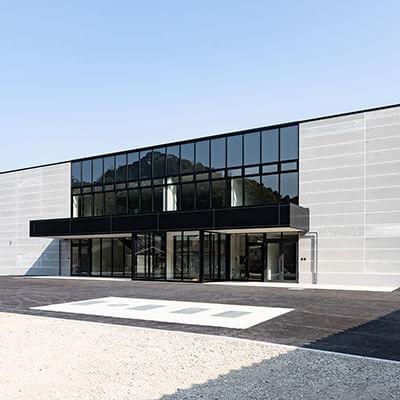 令和元年に完成した、新しい清潔な工場